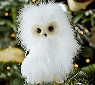 feather owl | Pottery Barn