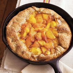 21 cast Iron desserts, including: Rustic Spiced Peach Tart with Almond Pastry