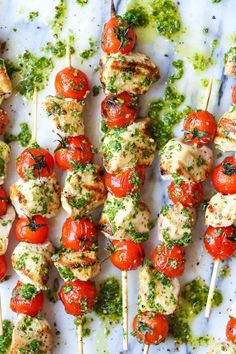 These flavorful kabobs on the grill are the perfect summer dinner. From grilled chicken kabobs to grilled shrimp kabobs, there are plenty of healthy grilling recipes to choose from. Cooking Recipes, Healthy Recipes, Detox Recipes, Summer Healthy Meals, Low Carb Summer Recipes, Easy Summer Dinners, Summer Grilling Recipes, Easy Cooking, Eat Healthy