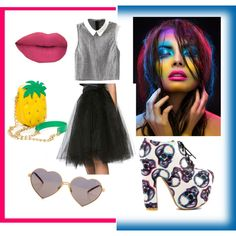 retro fun by popalah on Polyvore featuring polyvore fashion style Iron Fist Wildfox