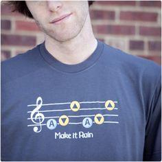 Make It Rain Zelda Shirt