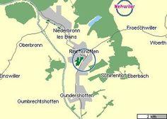 La grande ville de Reichshoffen et Nehwiller