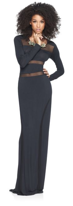 jersey-and-mesh-maxi-dress----- Love everything!!!