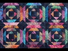 Give Your Quilt Symbolic Meaning With This Pineapple Log Cabin Quilt! – Crafty House