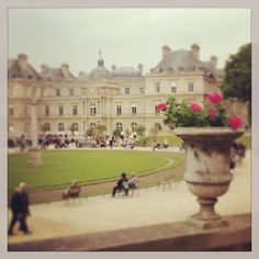 Another perfect Paris spot to relax, people watch, read, picnic, make out...Luxembourg Gardens - Paris