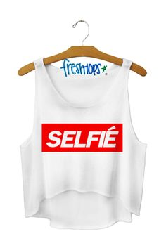 Selfie Crop Top