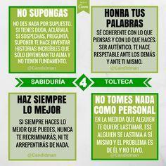 Los 4 Acuerdos de la Sabiduría Tolteca