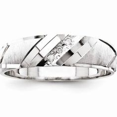 white gold wedding bands for men with diamonds - Google Search