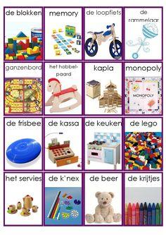 Speelgoed woordkaarten - deel 4