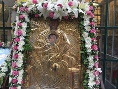 Grapevine Wreath, Burlap Wreath, Orthodox Icons, Holy Spirit, Flower Decorations, Grape Vines, Holi, Floral Wreath, Religion