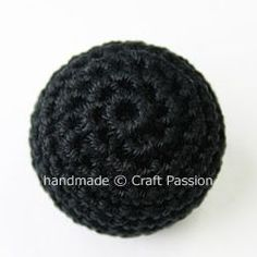 How to crochet a thread-covered bead from craftpassion.com. I love the looks of these beads but haven't ever tried to make one.