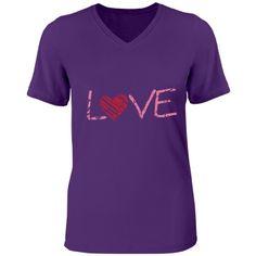 Purple love tee | purple love tee