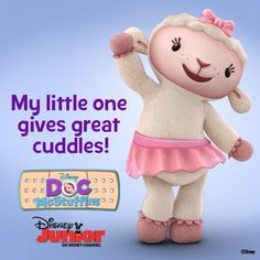 DOes your little one give great cuddles like Lambie? - Disney Junior