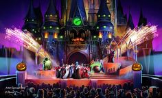"""An all-new show will bring extra Halloween fun to """"Mickey's Not-So-Scary Halloween Party"""" when it returns to the Magic Kingdom® Park at Walt Disney World Resort this fall. Plus check out an exclusive Walt Disney World Resort offer below. Walt Disney World, Disney World News, Disney Parks Blog, Disney World Magic Kingdom, Disney World Vacation, Disney World Resorts, Disney Vacations, Disney Trips, Disney Travel"""
