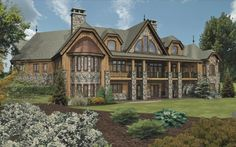 Chamberien II - Log Homes, Cabins and Log Home Floor Plans - Wisconsin Log Homes