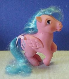 My little Pony -- my house was full of these!