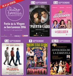 Las Ferias de San Lorenzo son increíbles. Conoce Valladolid y enamórate. Te esperamos en el Teatro Zorrilla