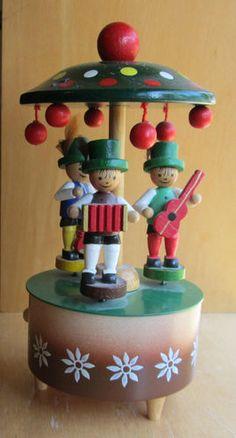 Steinbach Three Musicians Music Box Fur Elise West Germany