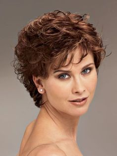 Short hair styles for curly hair