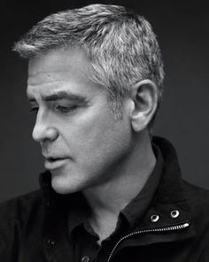 George Clooney is one fine older man.