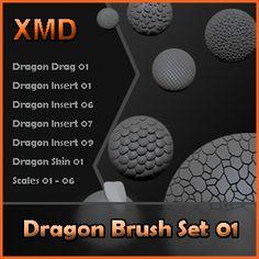 Free Custom Zbrush Brushes - Page 8