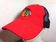 fe7f870f70b Kick10 Chicago Blackhawks Bud Light NHL Hockey Hat Red Adjustable Cotton  Cap  Kick10  ChicagoBlackhawks