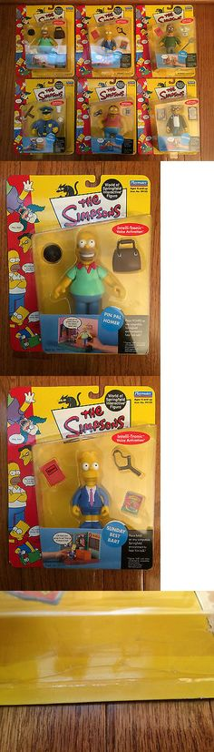 The WHO Full Set Figures NECA The Simpsons Series 2 3 pc.