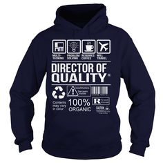 Awesome Director Of Quality T-Shirt, Hoodie Director Of Quality