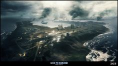 Wake Island Concept for BF3