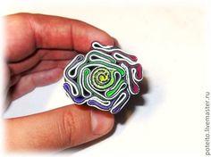 """Tuto : Comment faire un pendentif avec la technique """"Brain"""" en Fimo - Le blog de Miss Kawaii"""
