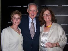 Judith Morse with Chase & Linda Moore,committe encouraging corporate philanthropy