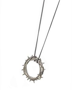 Religious paraphernalia is strangely intriguing to me, though I am NOT AT ALL religious! (RB)#thorn #necklace