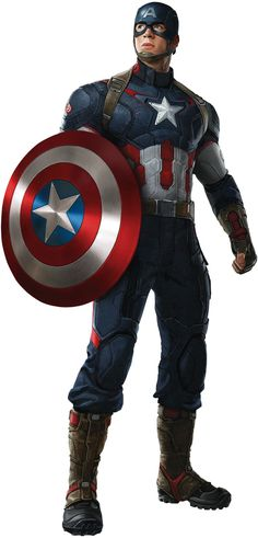 Simply Superheroes - Captain America Avengers Age Of Ultron Fathead Jr