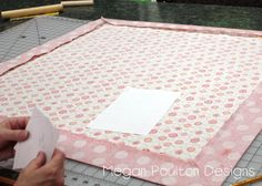 For a  throw, use 2 yards of one fabric and 2 1/3 yards of the second.  This link is the tutorial.