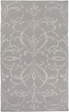 Bold and inspiring, the beautiful contemporary design of this rug are sure to add something new and fresh to any decor. Hues of light gray and ivory are emblazed beautifully on this rug, which will be sure to make a bold statement about your decor....