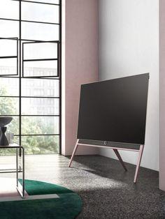 Loewe Bild 5 Colour Code TV Tunes Into Bauhaus Color Theory
