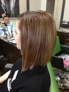 side of long bob- might be shorter than I want