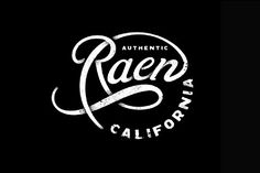 beautiful simple logo >>> I really like how the circle makes up part of the R and then the word California finishes the circle at the bottom. Overall great logo.