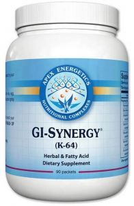 herbal antifungal, gi synergy k64, apex energetics