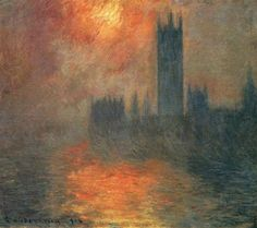 Claude Monet,  Houses of Parliament - 1904