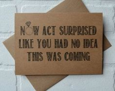 Now ACT SURPRISED like you had no idea by invitesbythisandthat