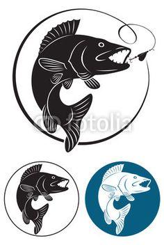 walleye silhouette - Google Search