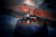 Youtube Banner Design, Youtube Design, Youtube Banners, Web Banner Design, Social Media Poster, Social Media Design, Banners Music, Luxury Logo Design, Gaming Banner