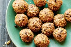 Chocolate Chip Trail Mix Balls