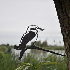 Vogelornament kookaburra van Metalbird   Markita.nl