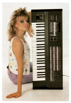 Vermona Tiracon 6V synth from the 80's