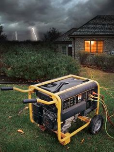 10 Tips to Survive a Blackout: Portable generator http://community.familyhandyman.com/tfh_group/b/diy_advice_blog/archive/2012/12/03/10-tips-to-survive-a-blackout.aspx