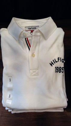 Polo Rugby Shirt, Polo Tees, Camisa Polo Tommy, Polo Shirt Design, Sport Wear, Mens Tees, Shirt Designs, Menswear, Mens Fashion