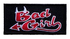 Bad girl biker patch