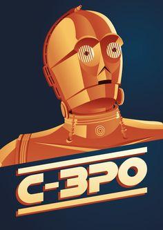 C-3PO poster